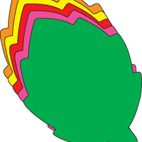"Leaf Assorted Color Creative Cut-Outs- 3"" - Creative Shapes Etc."