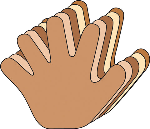 Picture of Small Multicultural Cut-Out - Hand (SE-601)
