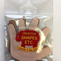 "Hand Multicultural Creative Cut-Outs- 3"" - Creative Shapes Etc."