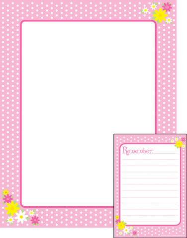 Picture of Notes & Quotes Writing Set - Remember Polka Dots