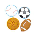 Mini Accents - Sports Variety Pack