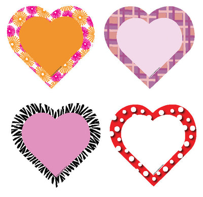 Mini Accents - Hearts Variety Pack - Creative Shapes Etc.