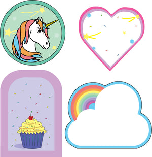 Mini Accents - Unicorn Party Variety Pack - Creative Shapes Etc.