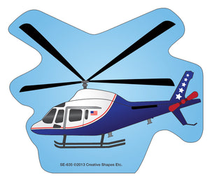 Mini Notepad - Helicopter - Creative Shapes Etc.