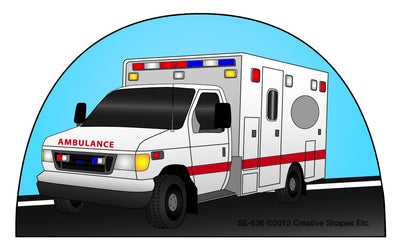 Mini Notepad Ambulance