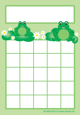 Progress Pads - Frogs - Creative Shapes Etc.
