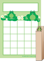Progress Pad/ Stamp Set - Frogs - Creative Shapes Etc.
