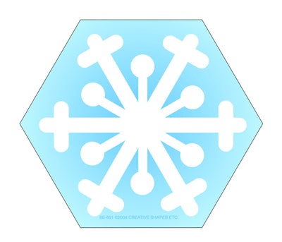 Mini Notepad - Snowflake - Creative Shapes Etc.
