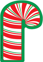 Mini Notepad - Candy Cane - Creative Shapes Etc.