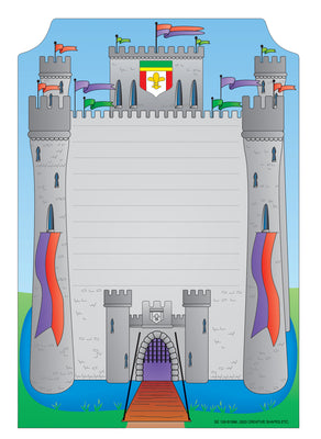 Mini Notepad - Castle - Creative Shapes Etc.