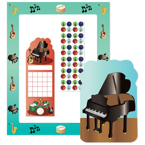 Picture of Stationery Set - Musical Instruments