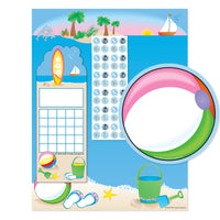 Stationery Set - Beach - Creative Shapes Etc.