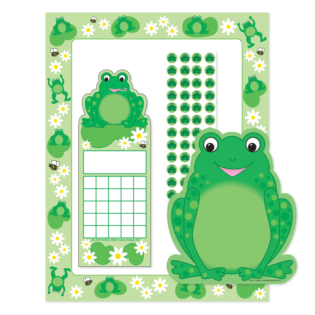 Stationery Set - Frog - Creative Shapes Etc.