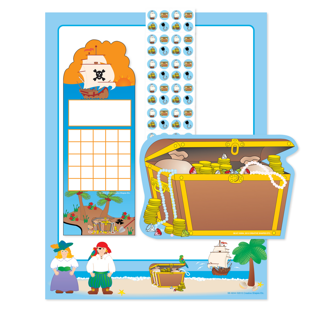 Stationery Set - Pirate
