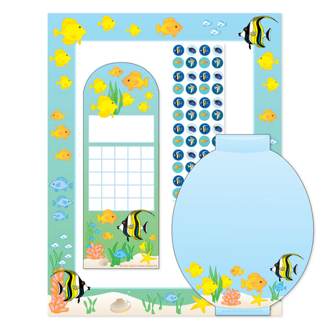 Picture of Stationery Set - Aquarium