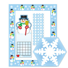 Stationery Set - Snowmen