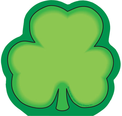 Mini Notepad - Shamrock - Creative Shapes Etc.