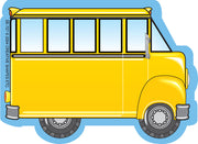 Mini Notepad - School Bus - Creative Shapes Etc.