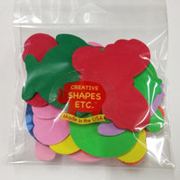 Small Assorted Pack Creative Foam Cut-Outs - Creative Shapes Etc.