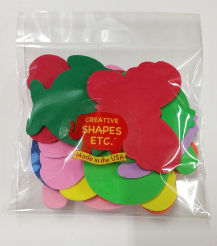 Picture of Small Assorted Pack Creative Foam Cut-Outs