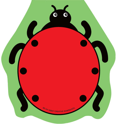 Mini Notepad - Ladybug - Creative Shapes Etc.