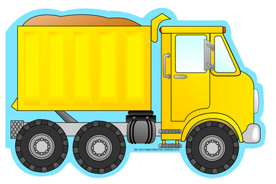 Mini Notepad - Dump Truck - Creative Shapes Etc.