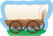 Mini Notepad - Conestoga Wagon - Creative Shapes Etc.