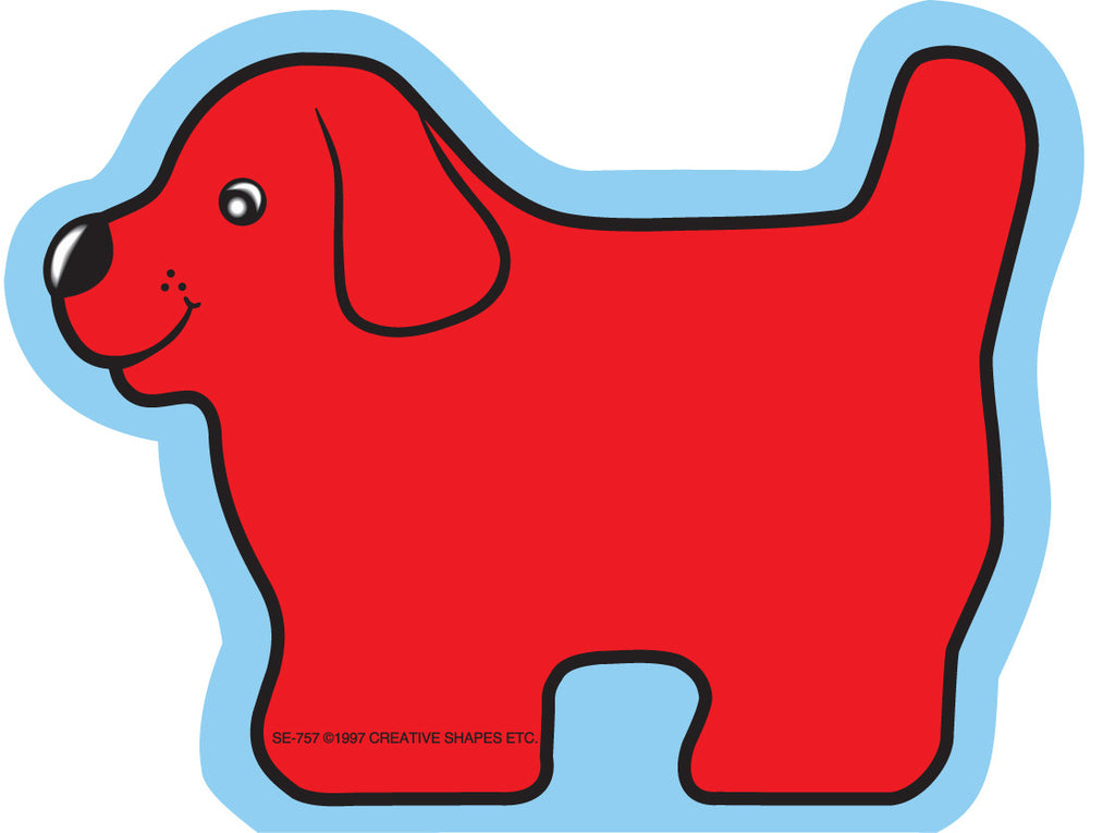 Mini Notepad - Red Dog