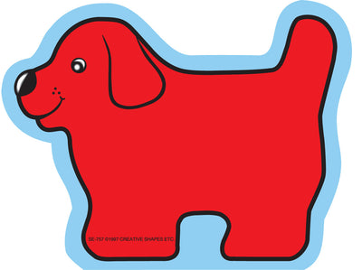 Mini Notepad - Red Dog - Creative Shapes Etc.