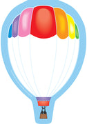 Mini Notepad - Hot Air Balloon - Creative Shapes Etc.