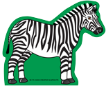 Mini Notepad - Zebra - Creative Shapes Etc.