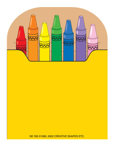 Picture of Mini Notepad - Crayon Box