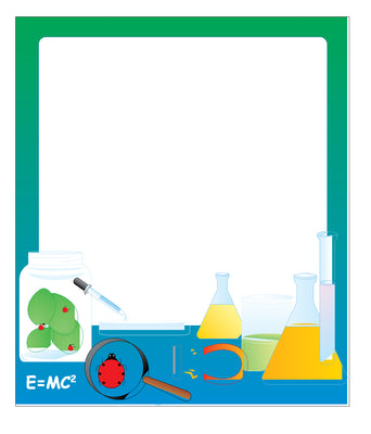 Mini Notepad - Science Lab / Lined - Creative Shapes Etc.