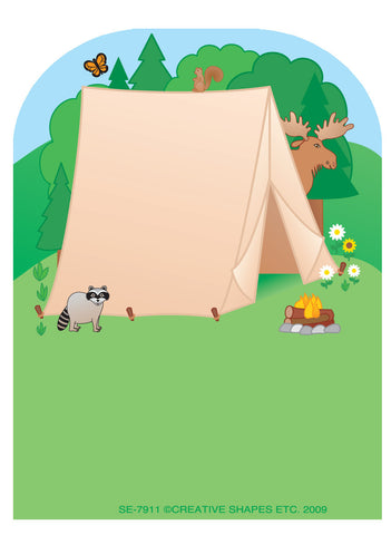 Picture of Mini Notepad - Tent