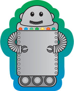 Mini Notepad - Robot - Creative Shapes Etc.