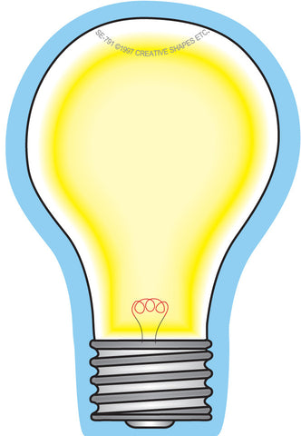 Picture of Mini Notepad - Light Bulb