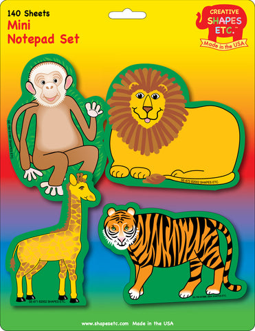 Picture of Mini Notepad Set - Zoo