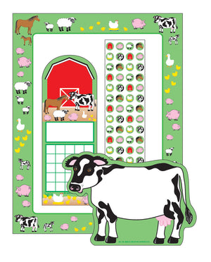 Stationery Set - Farm - Creative Shapes Etc.