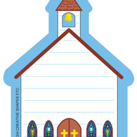 Mini Notepad - Church - Creative Shapes Etc.
