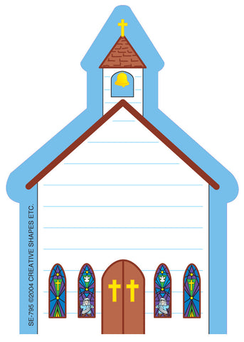 Picture of Mini Notepad - Church