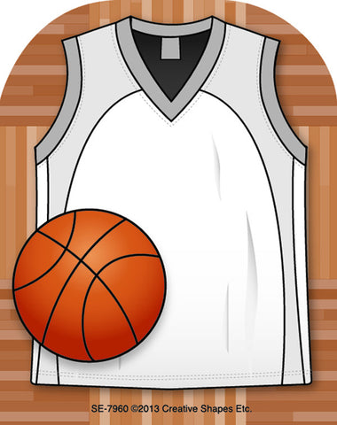 Picture of Mini Notepad - Basketball Jersey
