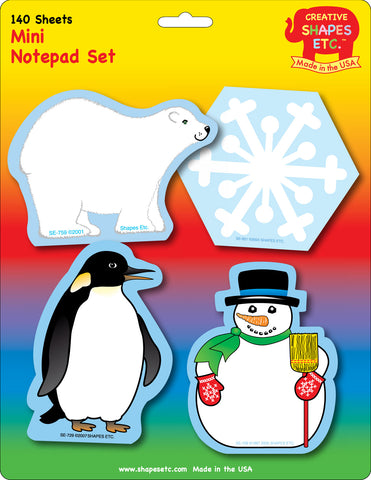 Picture of Mini Notepad Set - Winter
