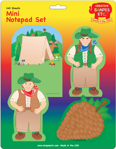 Picture of Mini Notepad Set - Camping