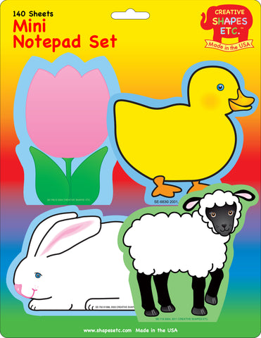 Picture of Mini Notepad Set - Easter