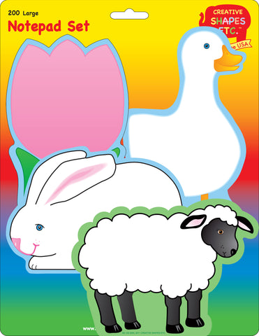 Picture of Large Notepad Set - Easter