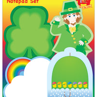 Large Notepad Set - St. Patrick's Day - Creative Shapes Etc.