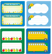 Nametag - Set of 4 - Creative Shapes Etc.