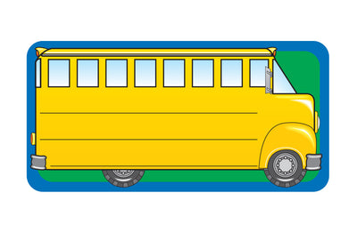 Nametag - School Bus