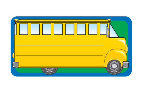 Picture of Nametag - School Bus