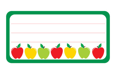 Nametag - Apples - Creative Shapes Etc.